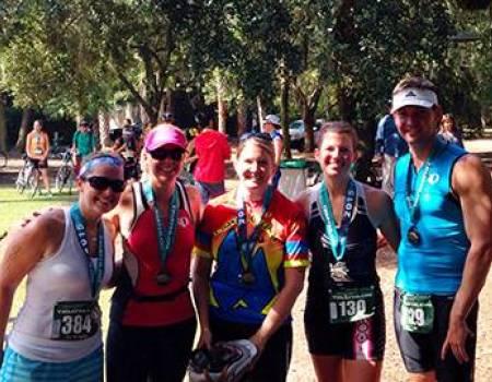Kiawah Island Triathlon - Akers Team