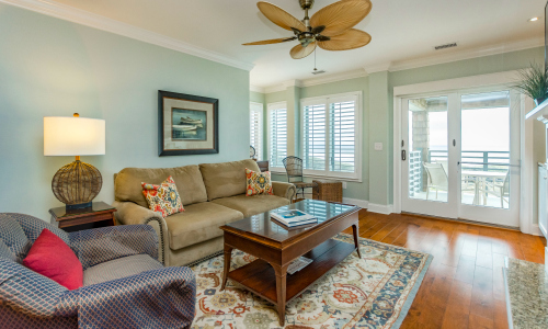 kiawah island rental living room