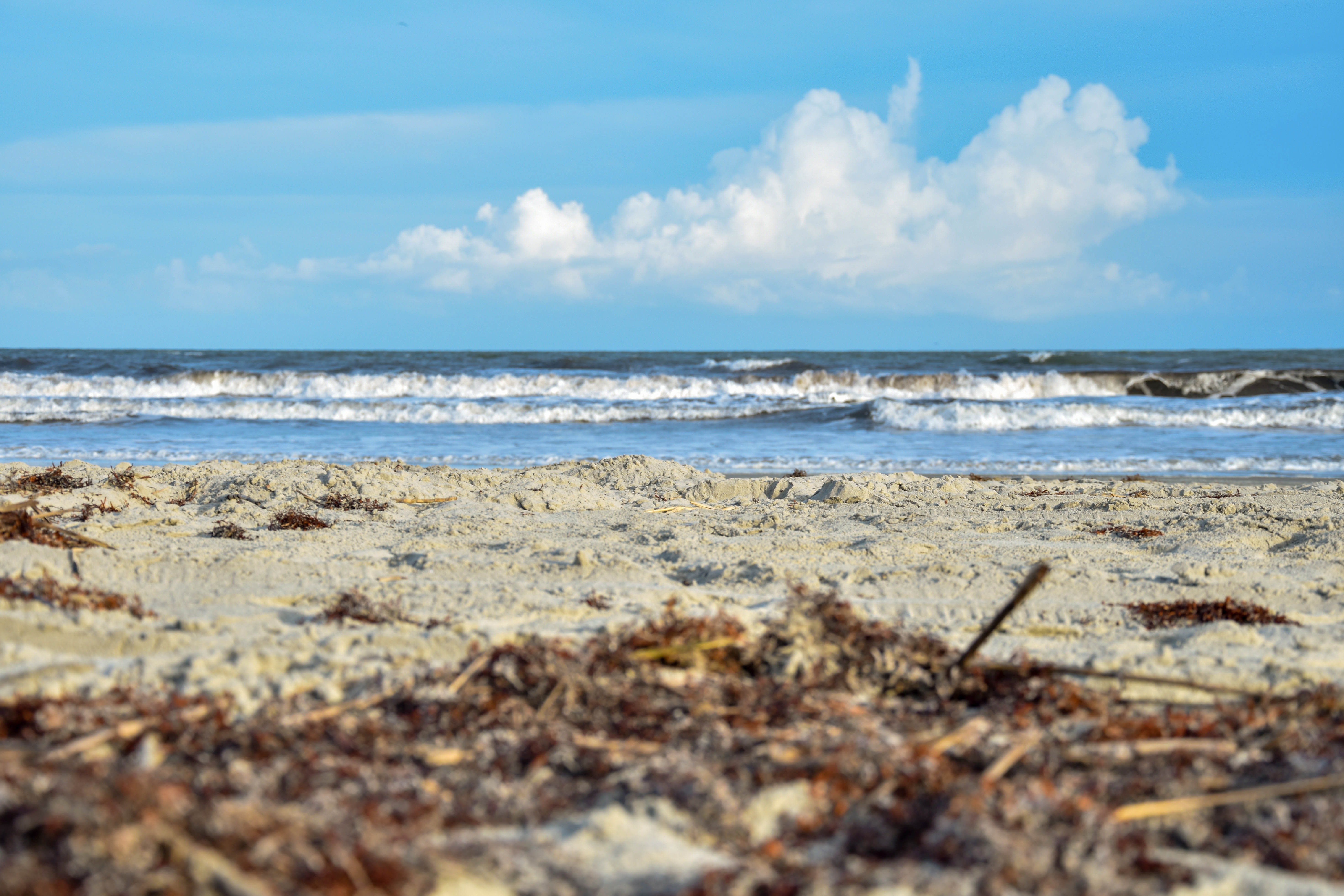 kiawah island sandy beach