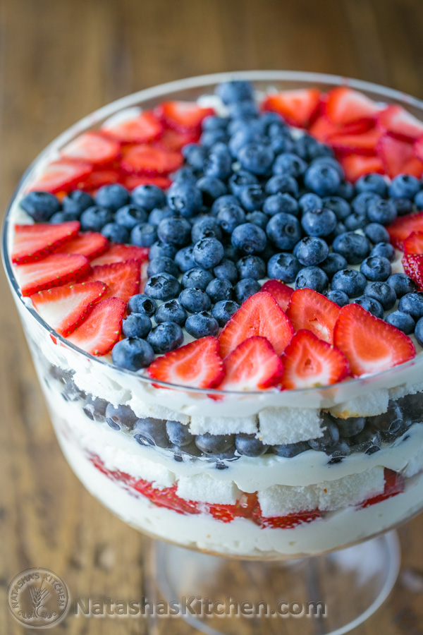 4th of july berry trifle recipe