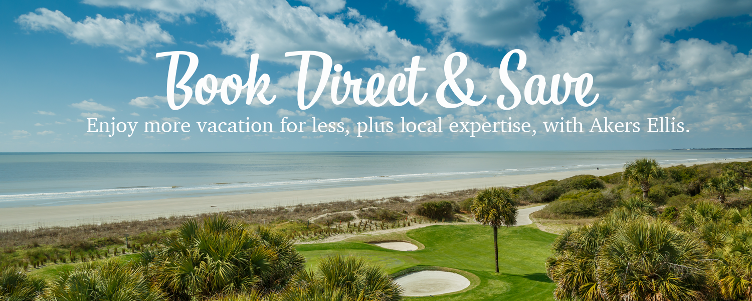 Book Direct and Save Kiawah Island